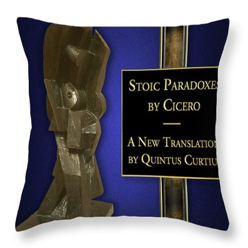 Stoic Paradoxes Throw Pillow