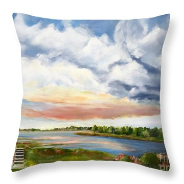 Stoker's  Swift Creek Throw Pillow