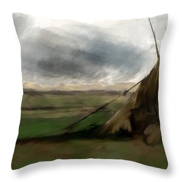 Stolen Spirit  Throw Pillow