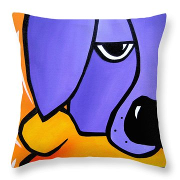 Stolen Throw Pillow by Tom Fedro - Fidostudio