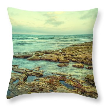 Stone And Sea Throw Pillow