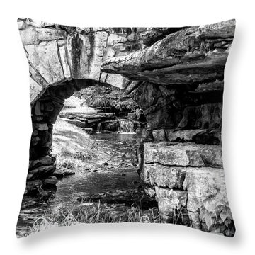 Stone Arch Throw Pillow by Wade Courtney