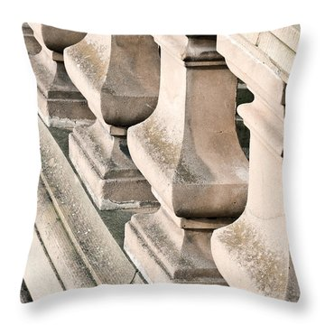 Stone Bannister Throw Pillow
