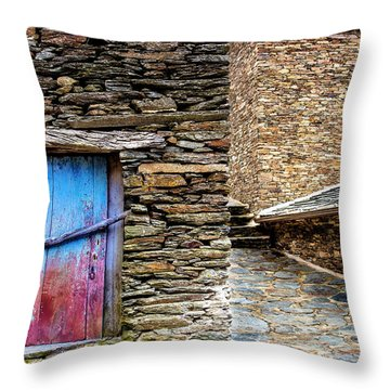 Stone By Stone Throw Pillow