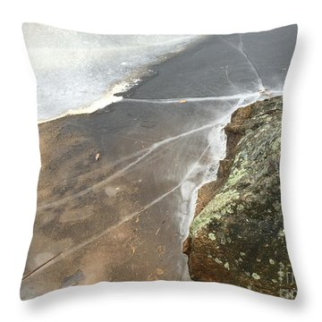 Stone Cold Throw Pillow