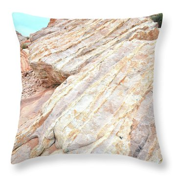 Throw Pillow featuring the photograph Stone Feet In Valley Of Fire by Ray Mathis