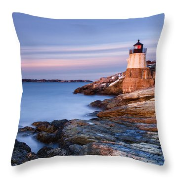 Stone On Rock Throw Pillow