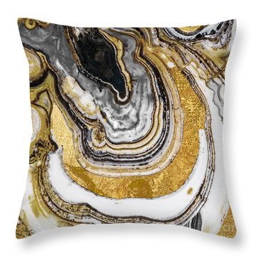 Stone Prose Throw Pillow by Mindy Sommers