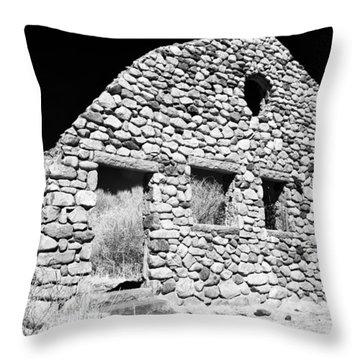 Stone Ruins Throw Pillow