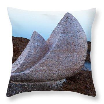 Stone Sails Throw Pillow