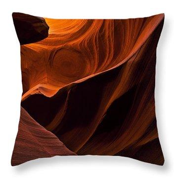 Stone Shadows Throw Pillow by Mike  Dawson