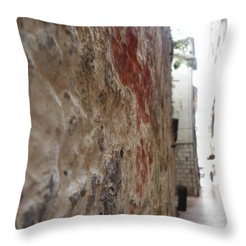 Stone Street Throw Pillow