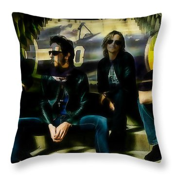 Stone Temple Pilots Throw Pillow