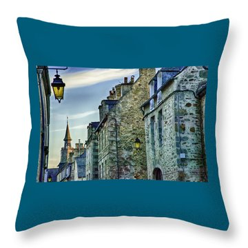 Stone Walled Throw Pillow