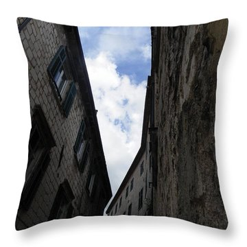 Stone Walls II Throw Pillow