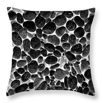Stoned Throw Pillow by John Stephens