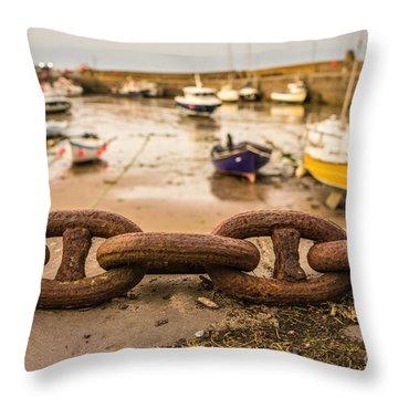 Stonehaven Chain Throw Pillow