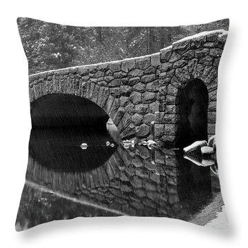 Stoneman Bridge Throw Pillow
