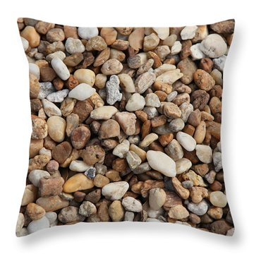Stones 302 Throw Pillow