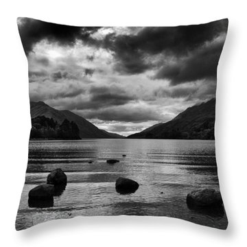 Throw Pillow featuring the photograph Stones by Adrian Pym