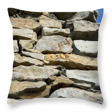 Stones Heavenward Throw Pillow