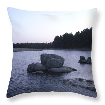 Stones Of Serenity Throw Pillow