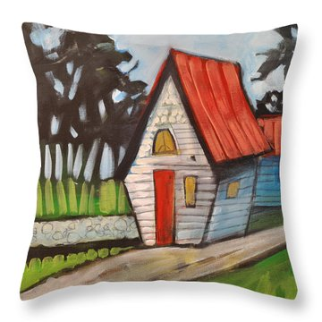 Stonewall Cottage Throw Pillow by Tim Nyberg