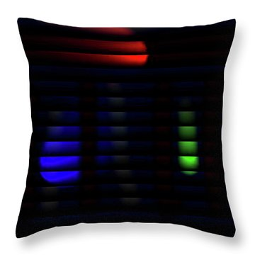 Stop And Go Blinds Throw Pillow