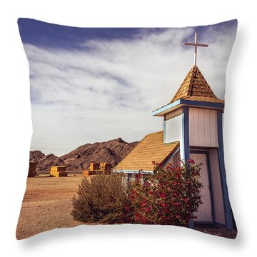Stop Rest Worship Throw Pillow by Robert Bales