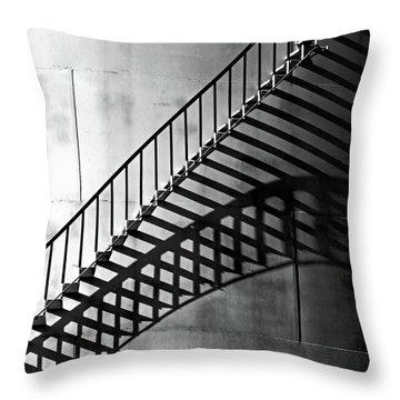 Storage Stairway Throw Pillow by Christopher McKenzie
