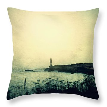 Stories From The Sea Throw Pillow
