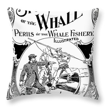 Stories Of The Whale Throw Pillow by Granger