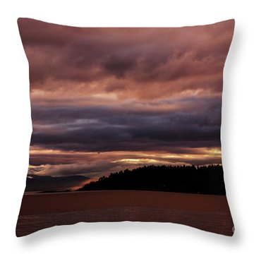 Storm 3 Throw Pillow