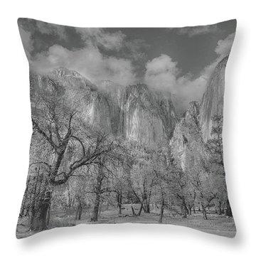 Storm A Brewing Throw Pillow