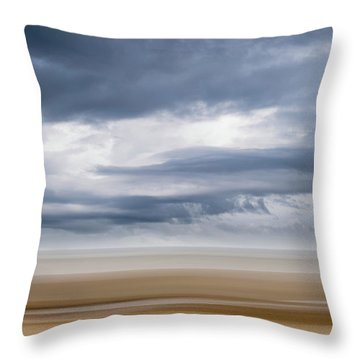 Storm Approaching Throw Pillow