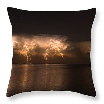 Storm Before Dawn Throw Pillow