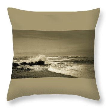Throw Pillow featuring the photograph Storm Brewing by Samuel M Purvis III