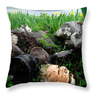 Storm Casualty Throw Pillow