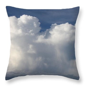Storm Clouds 2 Throw Pillow
