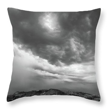 Storm Clouds IIi Throw Pillow