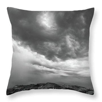 Storm Clouds IIi Throw Pillow