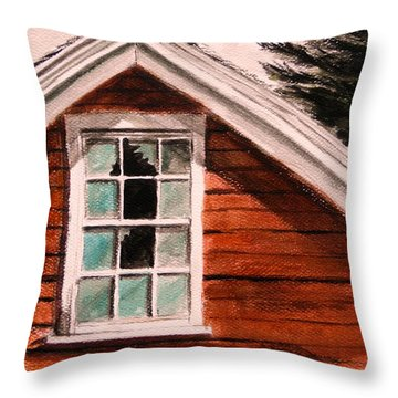 Storm Damage Throw Pillow by John Williams