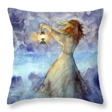 Storm... Throw Pillow