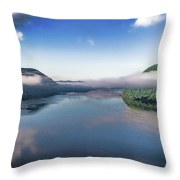 Storm King And The Highlands Throw Pillow