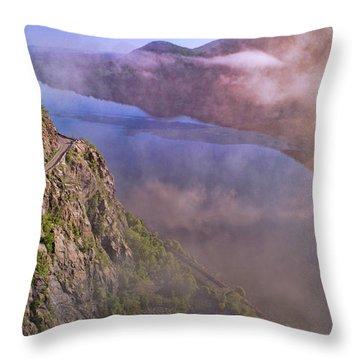 Storm King Highway Throw Pillow