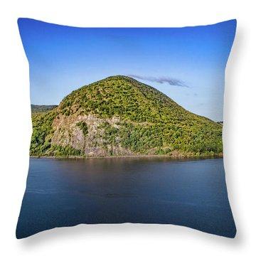 Storm King Mountain From Breakneck Ridge Throw Pillow