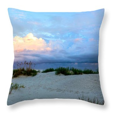 Storm Of Pastels Throw Pillow