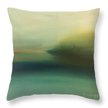 Storm Over Cuba Throw Pillow