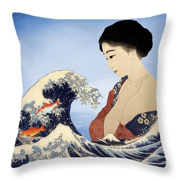 Storm Protector Throw Pillow