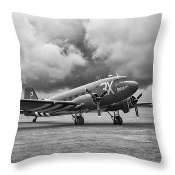 Storm Rider Throw Pillow by Jonathan Wintle